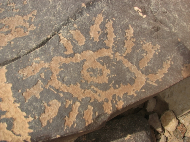 all seeing eye petroglyph